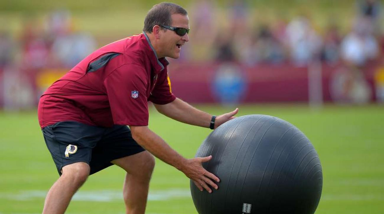 Redskins coordinator drinks ten cups of coffee a day