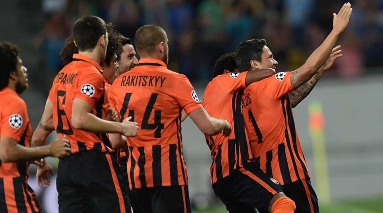 Shakhtar Donetsk is through to the Champions League group stage