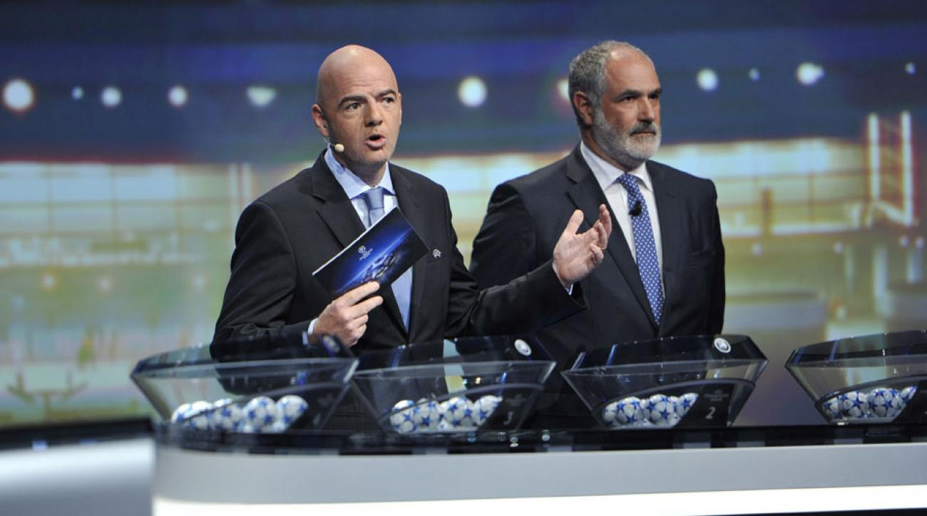 UEFA Champions League draw, 2015-16
