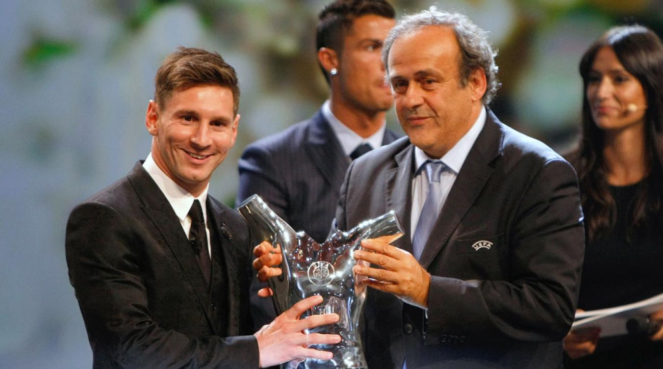 lionel messi uefa best player in europe award cristiano ronaldo