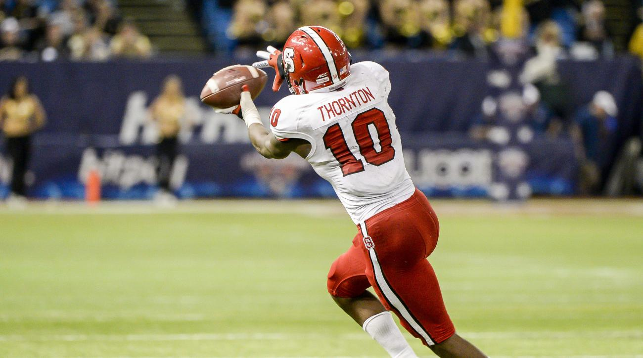 NC State's Shad Thornton suspended for two games