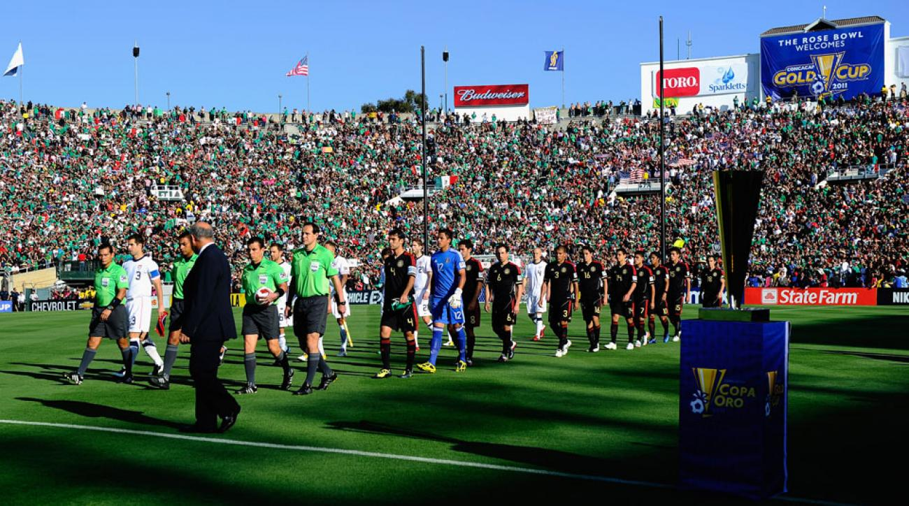 USA, Mexico will play for a spot in the 2017 Confederations Cup at the Rose Bowl