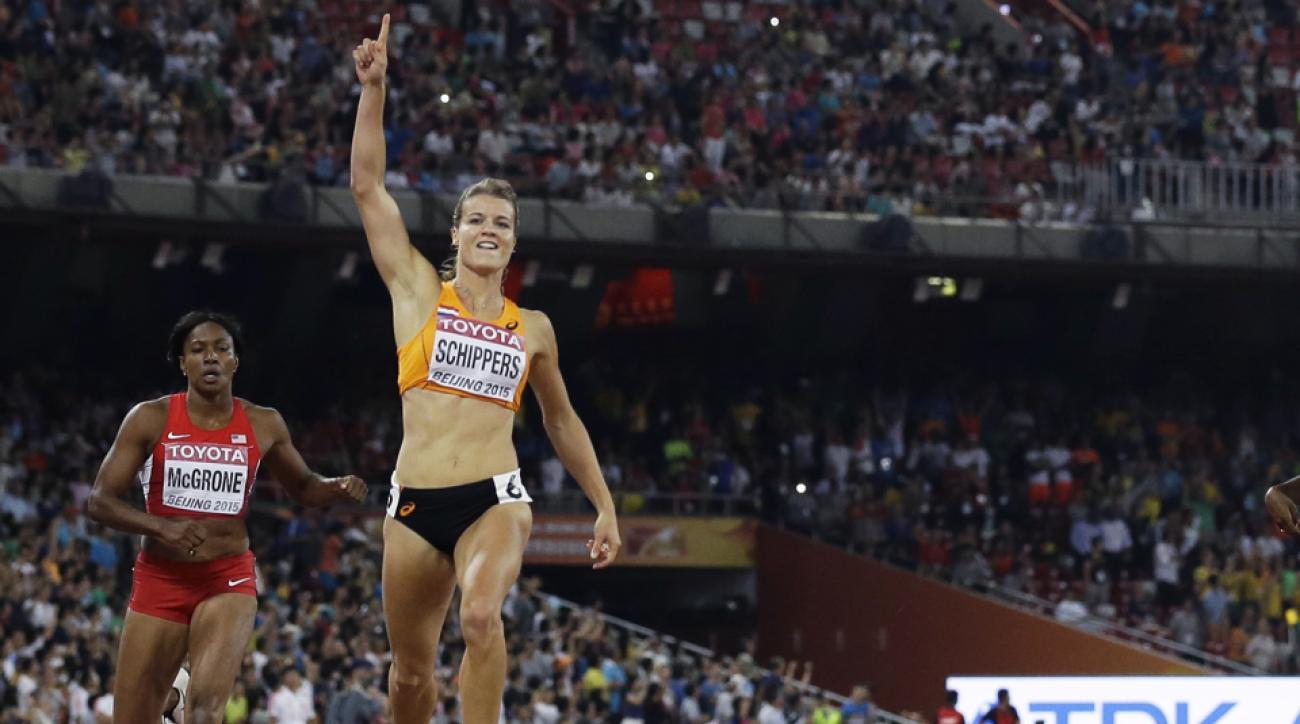 dafne schippers 200 meter world championships beijing 2015