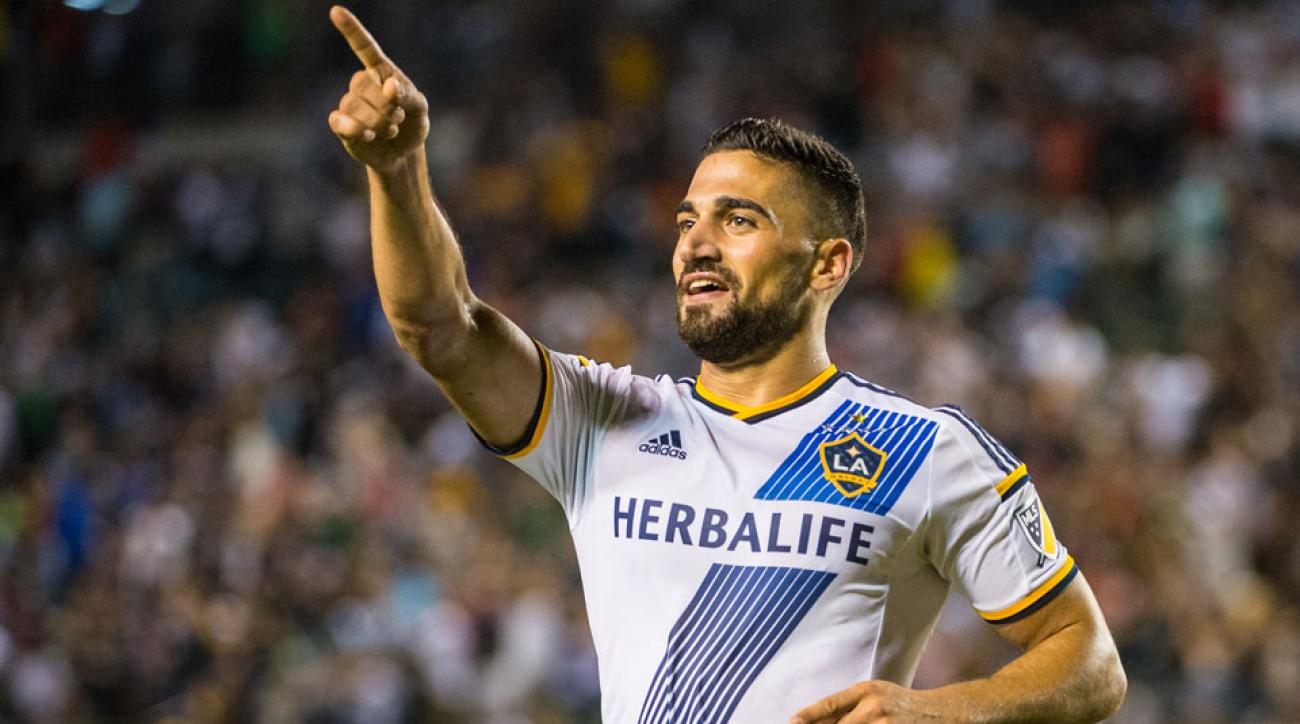 Sebastian Lletget is enjoying a great run of form since joining the LA Galaxy