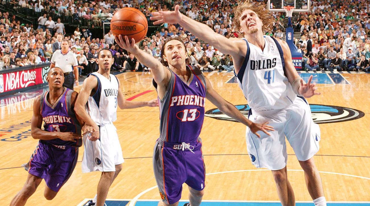 Steve Nash won NBA MVP awards in 2005 and 2006.