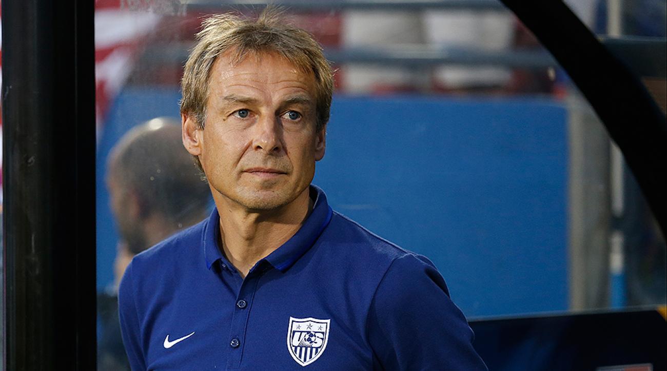 USMNT roster CONCACAF playoff Mexico Jurgen Klinsmann