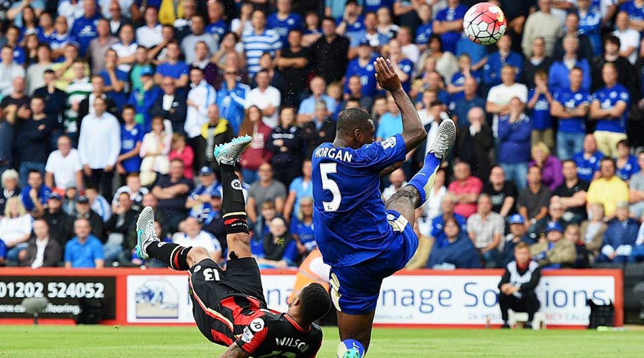 Callum Wilson Bournemouth vs. Leicester City