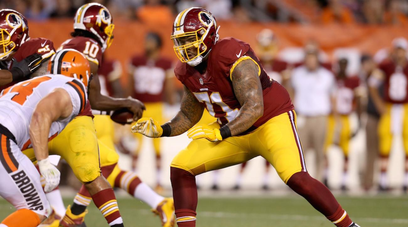 Washington Redskins sign OT Trent Williams to five year extension