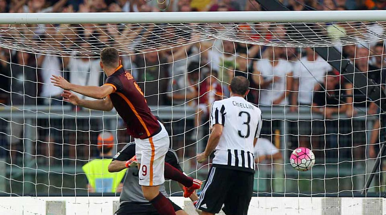 Roma defeats Juventus Serie A
