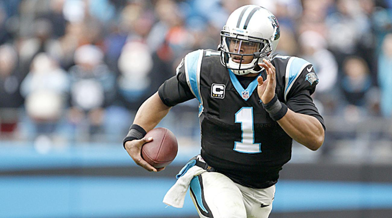 The Panthers will rely on Cam Newton's rushing ability in 2015