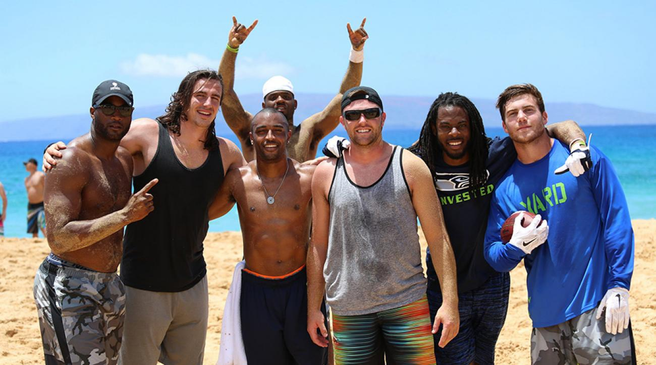Seattle Seahawks offseason trip Hawaii