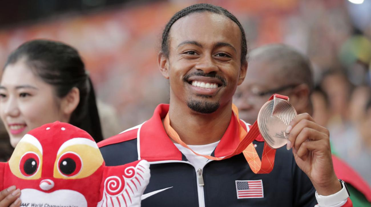 aries merritt kidney transplant world championships