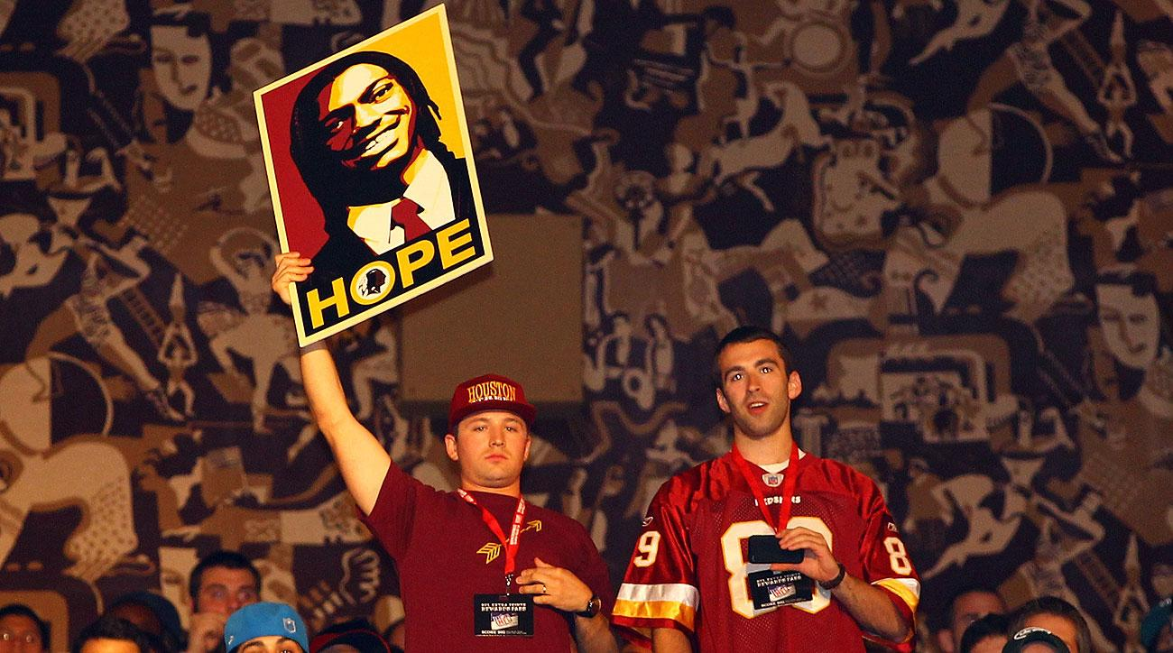 Washington fans at the 2012 draft (Al Bello/Getty Images)