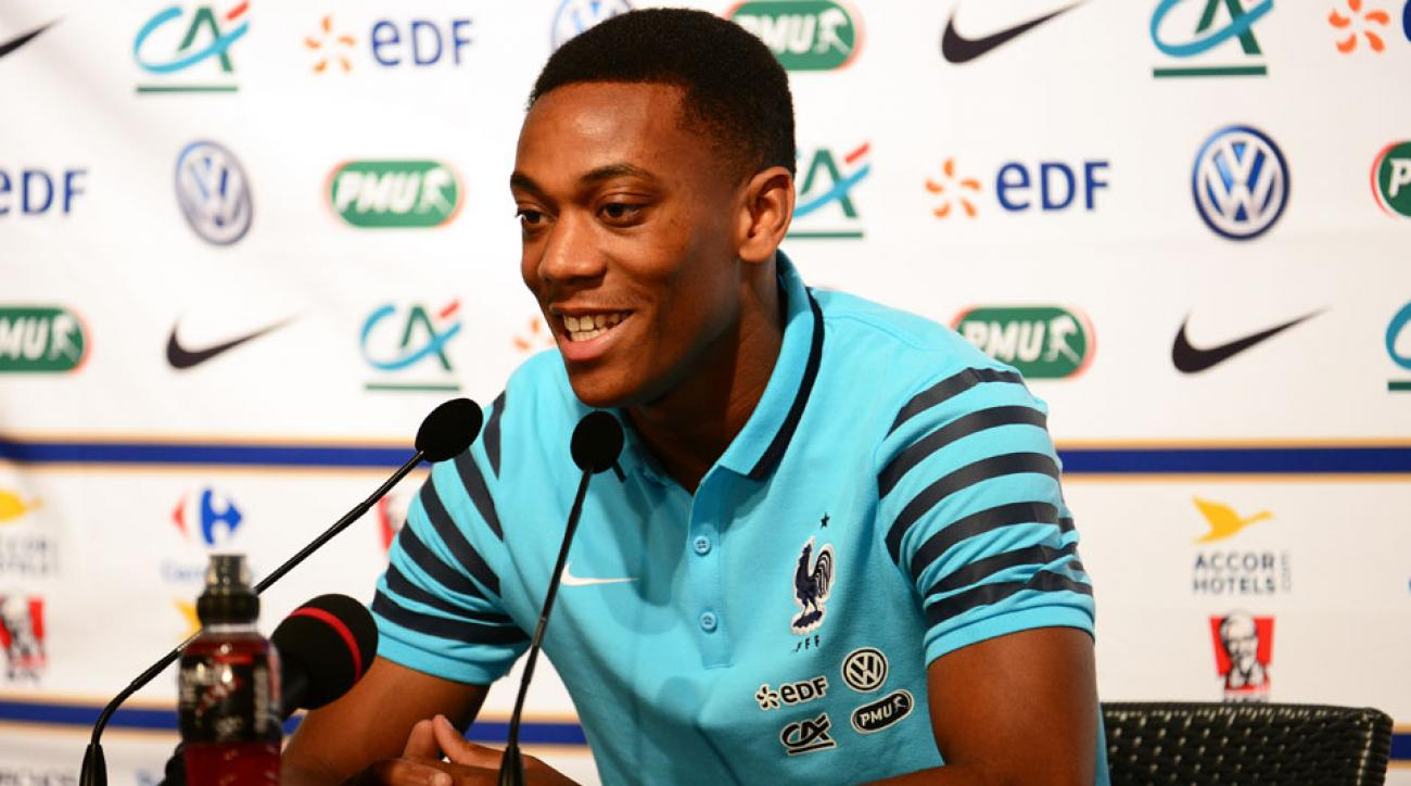 Anthony Martial, new Manchester United forward