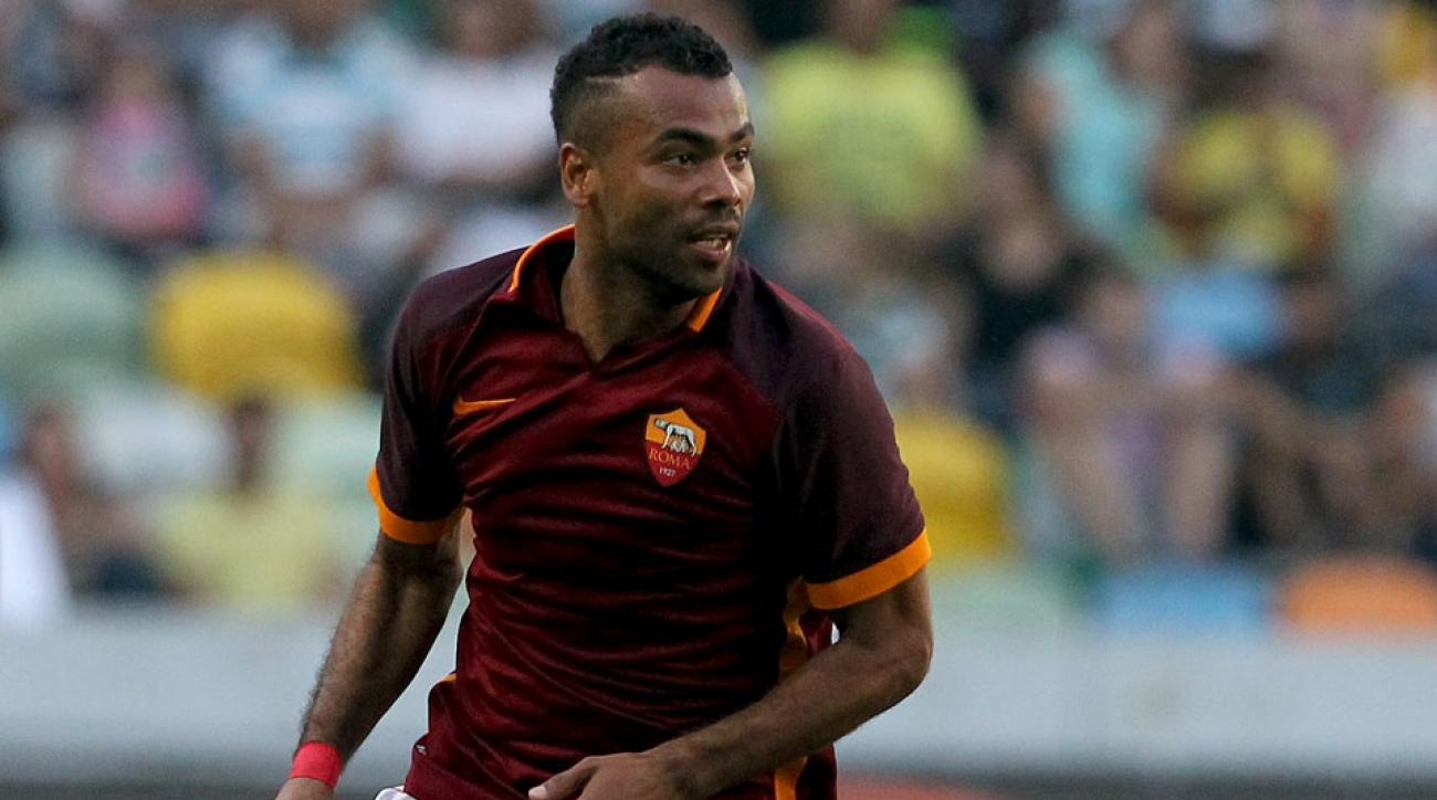 Ashley Cole has been left off Roma's Champions League roster