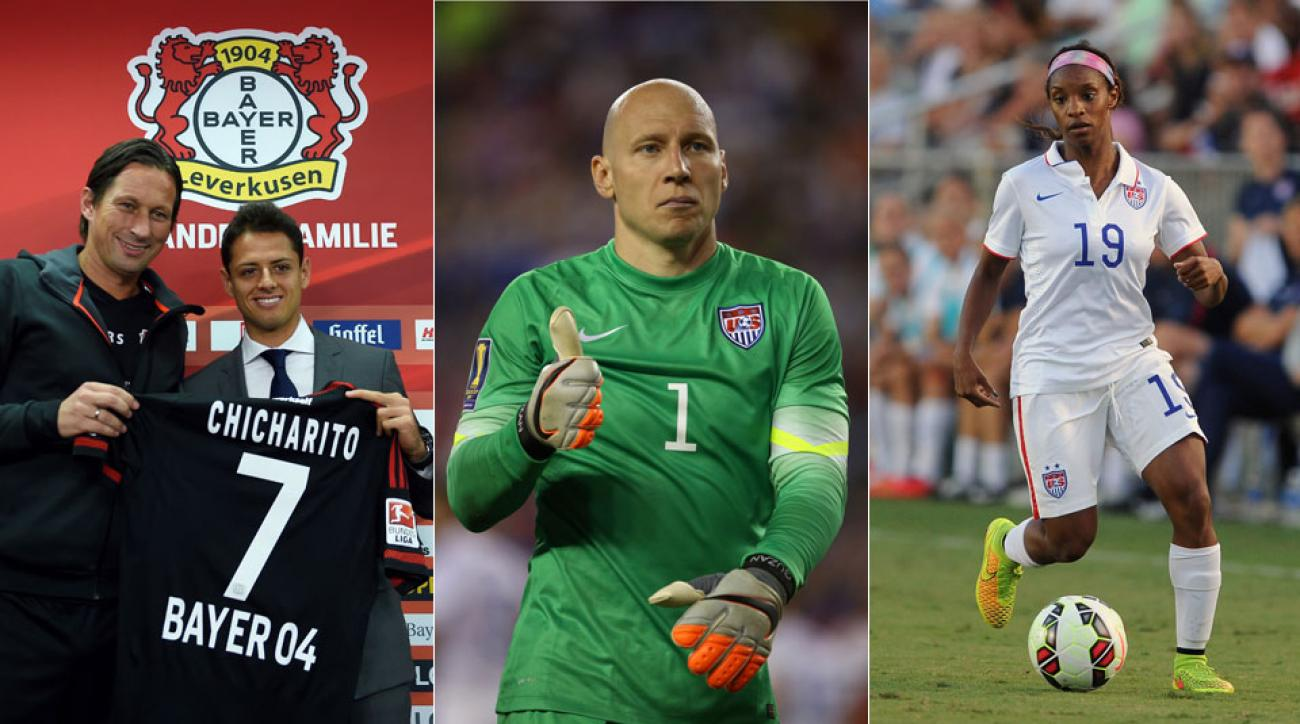 Grant Wahl answers questions on Chicharito, Brad Guzan, Crystal Dunn