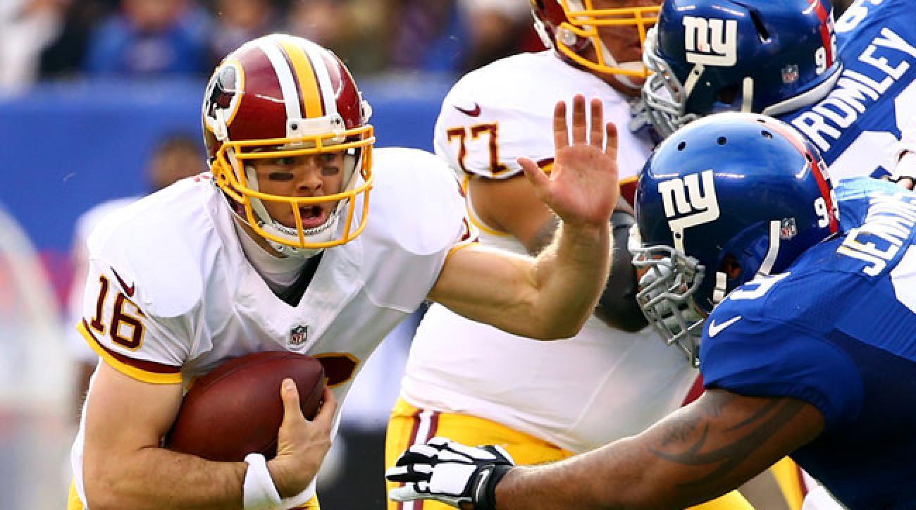 Washington quarterback Colt McCoy (Al Bello/Getty Images)