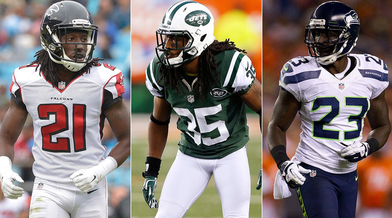 The Brothers Trufant, from left: Desmond, Isaiah and Marcus (Getty Images/3)