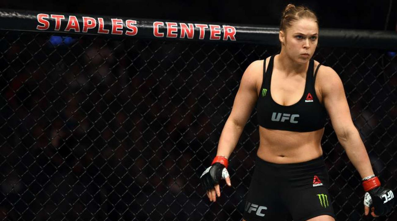 Ronda Rousey UFC Mural Venice California
