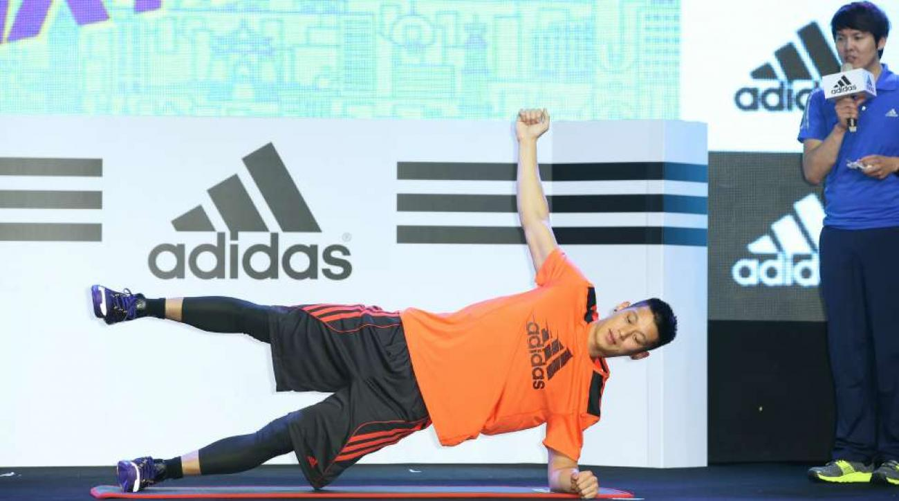 Hornets Jeremy Lin undercover gym video