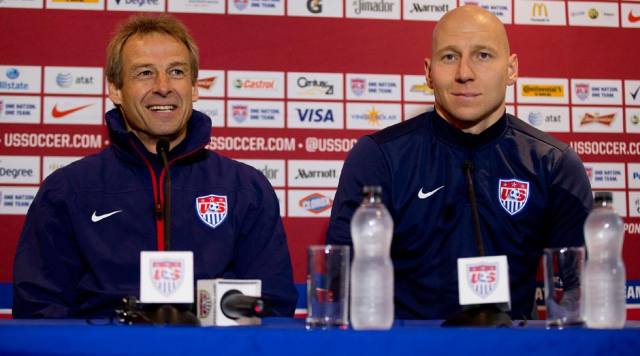 Jurgen Klinsmann has named Brad Guzan his top goalkeeper