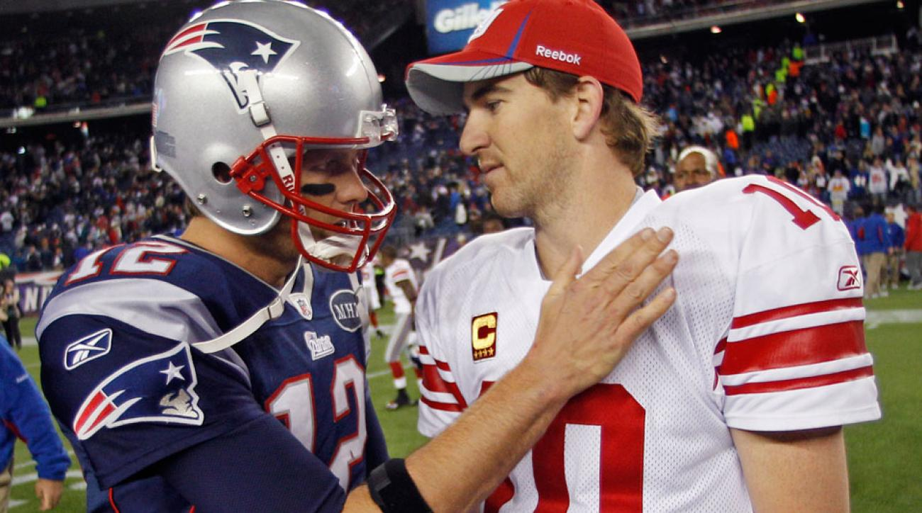 tom brady deflategate eli manning patriots vs giants 2015 nfl preseason