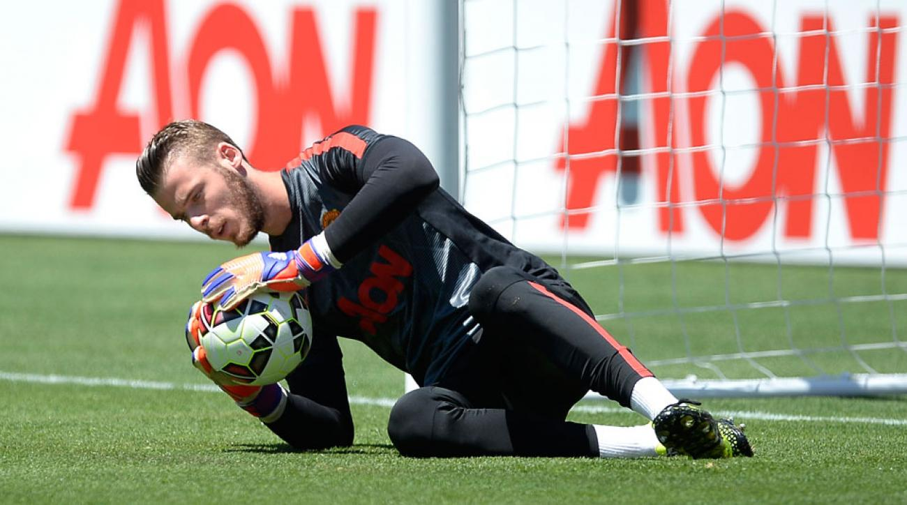 David de Gea remains at Manchester United after the summer transfer window