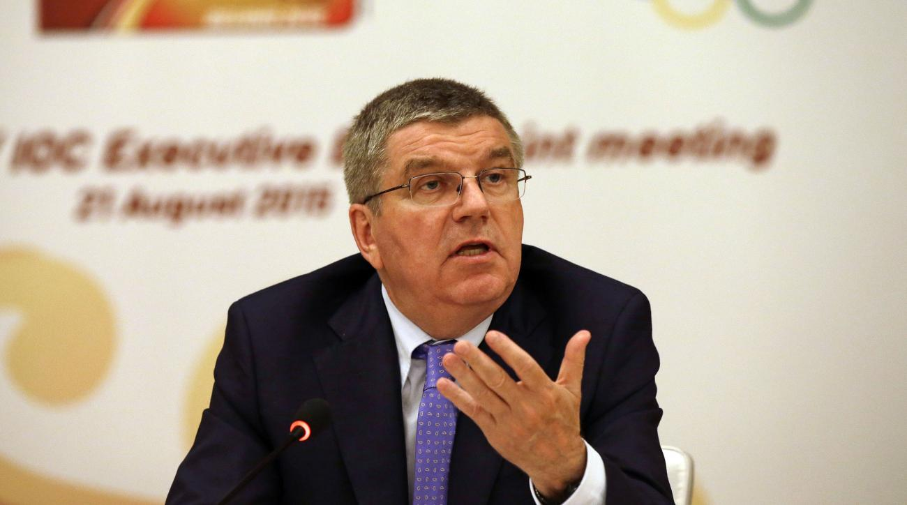 international olympic committee refugee fund thomas bach