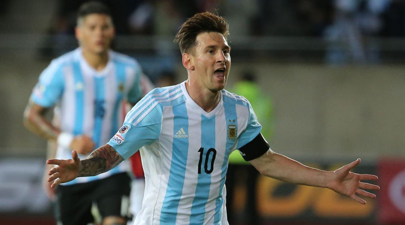 Lionel Messi and Argentina take on Bolivia in Houston