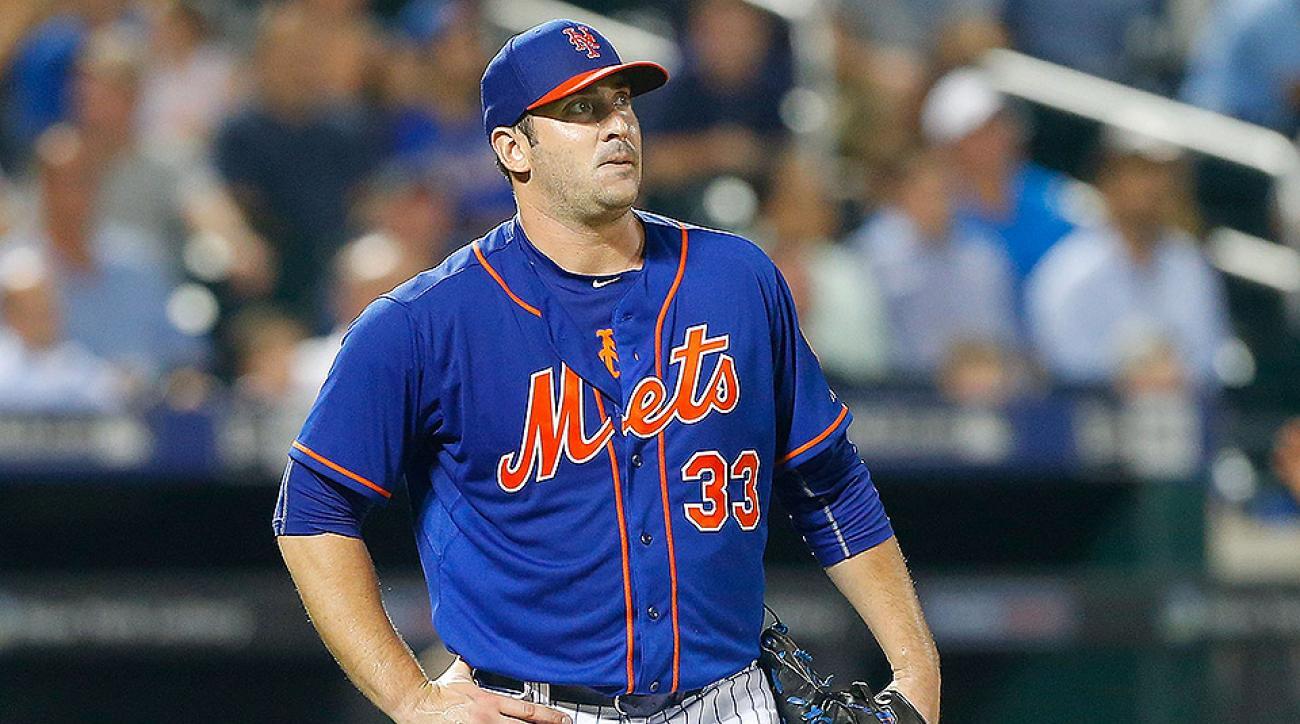 New York Mets Matt Harvey innings limit
