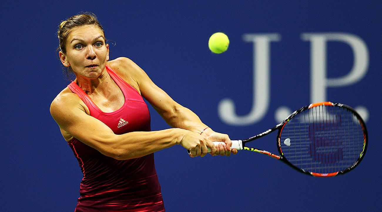 Simona Halep US Open Day 6