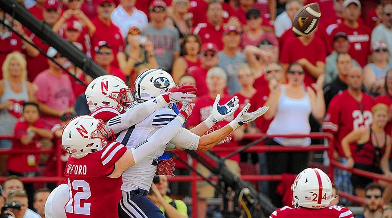 BYU Hail Mary catch vs. Nebraska