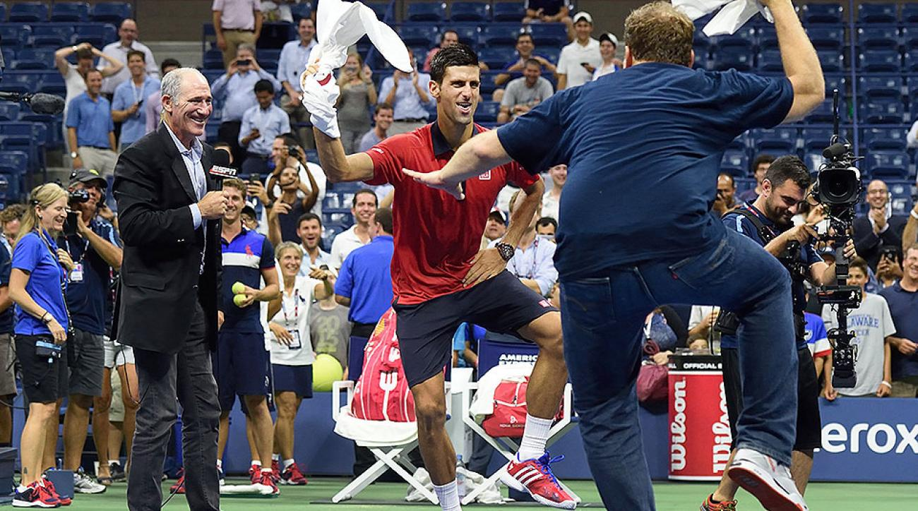 Brain on Sports Podcast: Professional superfan Cameron Hughes on crowd energy and dancing with Novak Djokovic