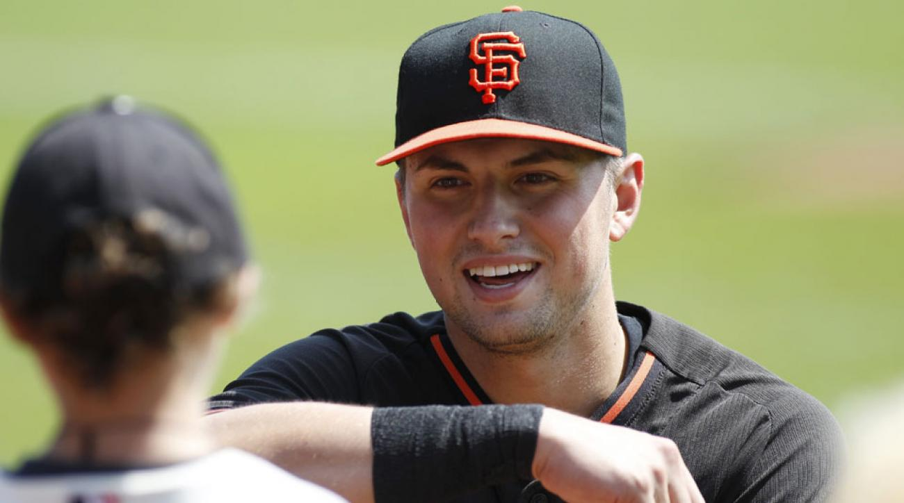 joe panik activated off disabled list san francisco giants