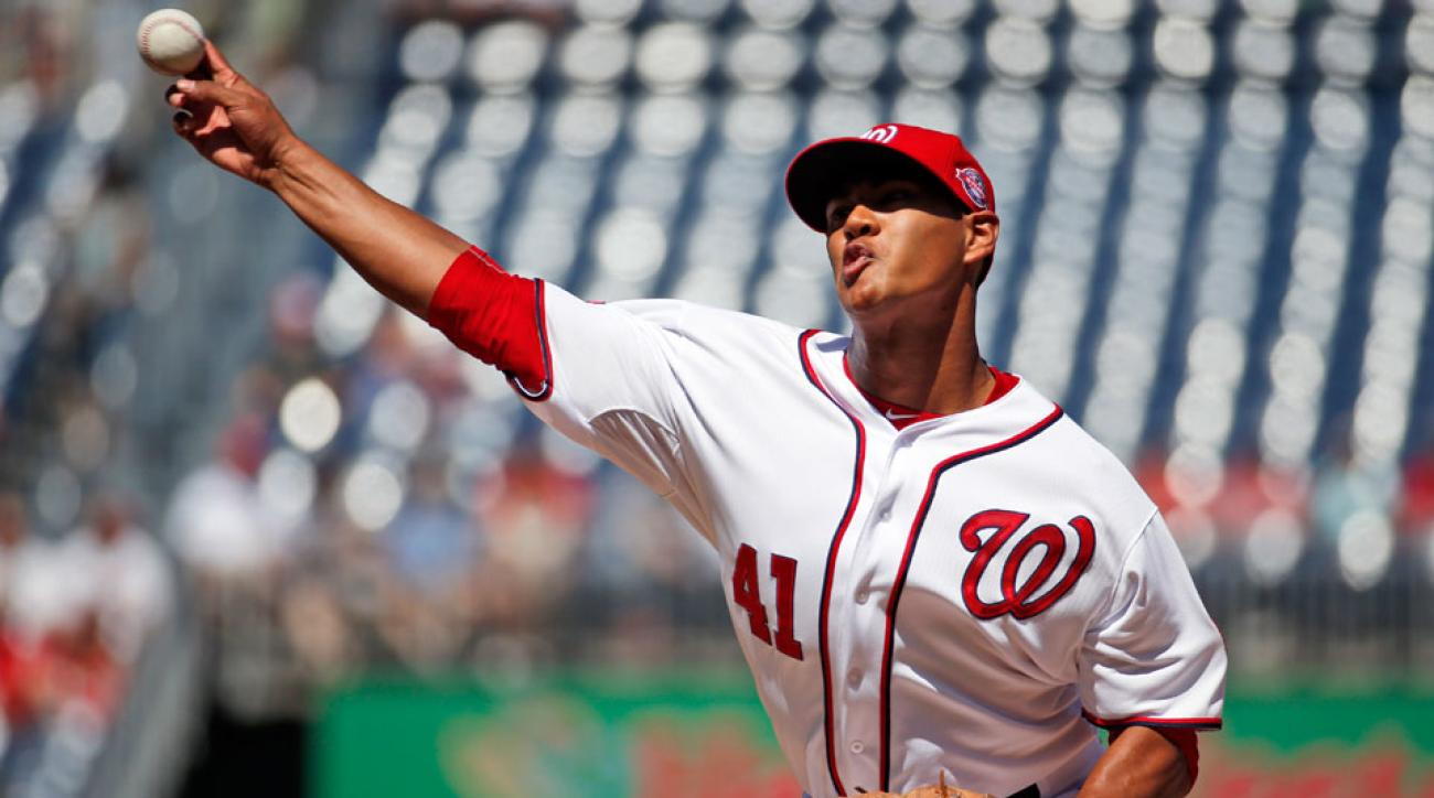 joe ross washington nationals 2015 playoffs innings limit