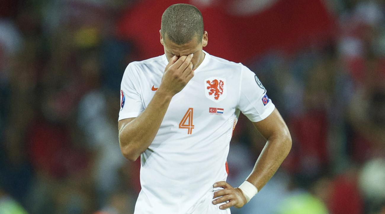 Netherlands is in jeopardy of missing Euro 2016