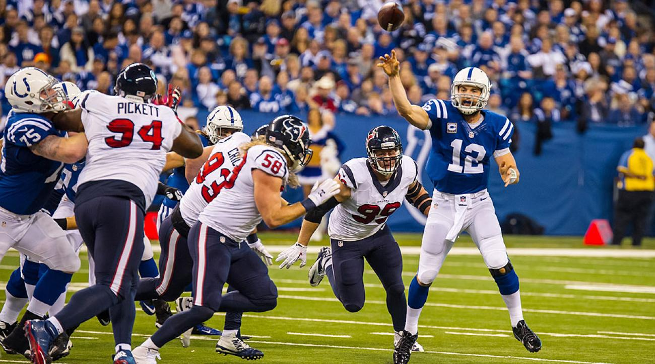 2015 NFL predictions, picks: AFC South game-by-game, standings