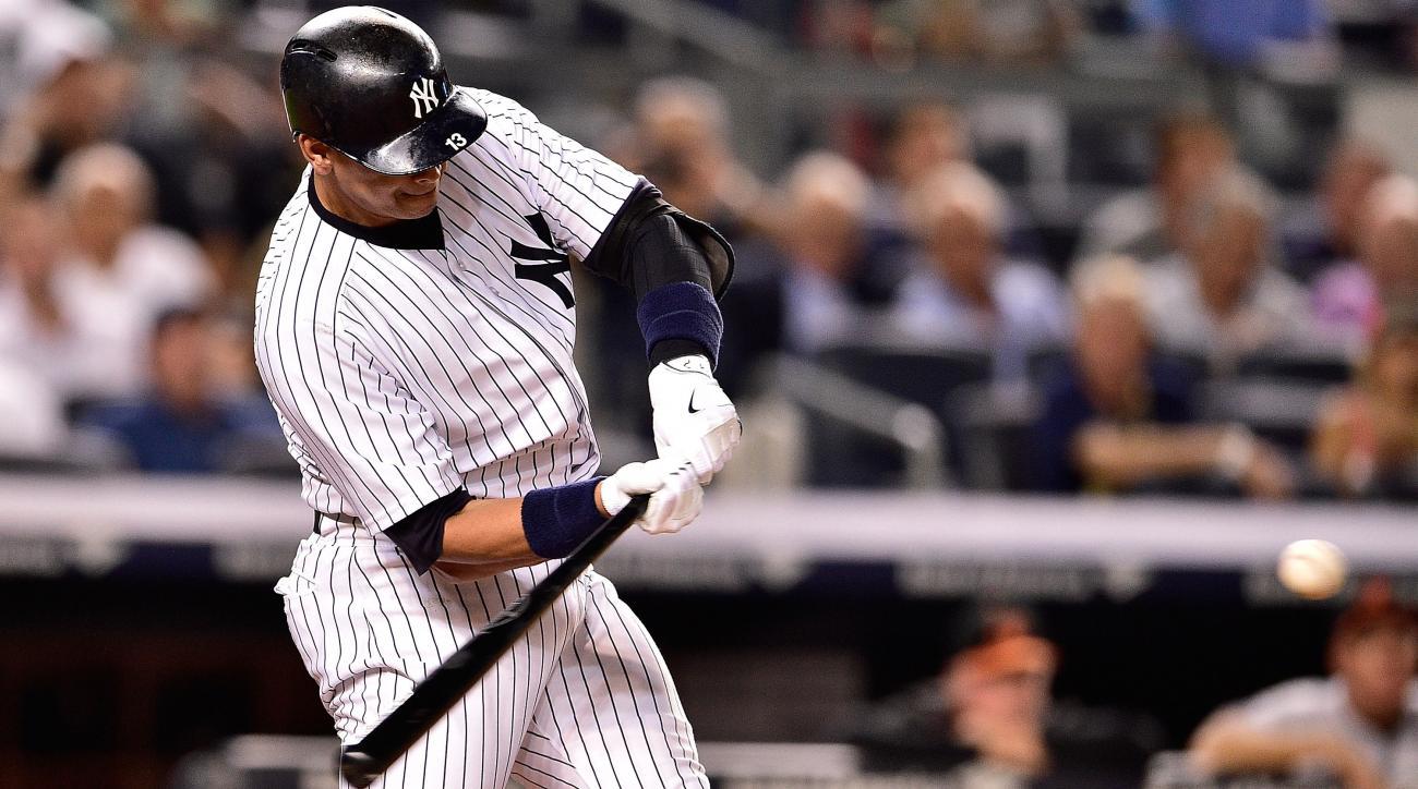 alex rodriguez home run yankees hank aaron