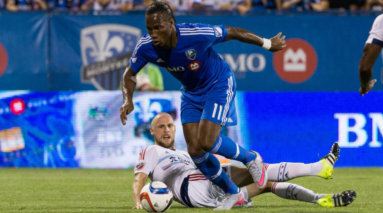 Didier Drogba is off to a flying start with the Montreal Impact