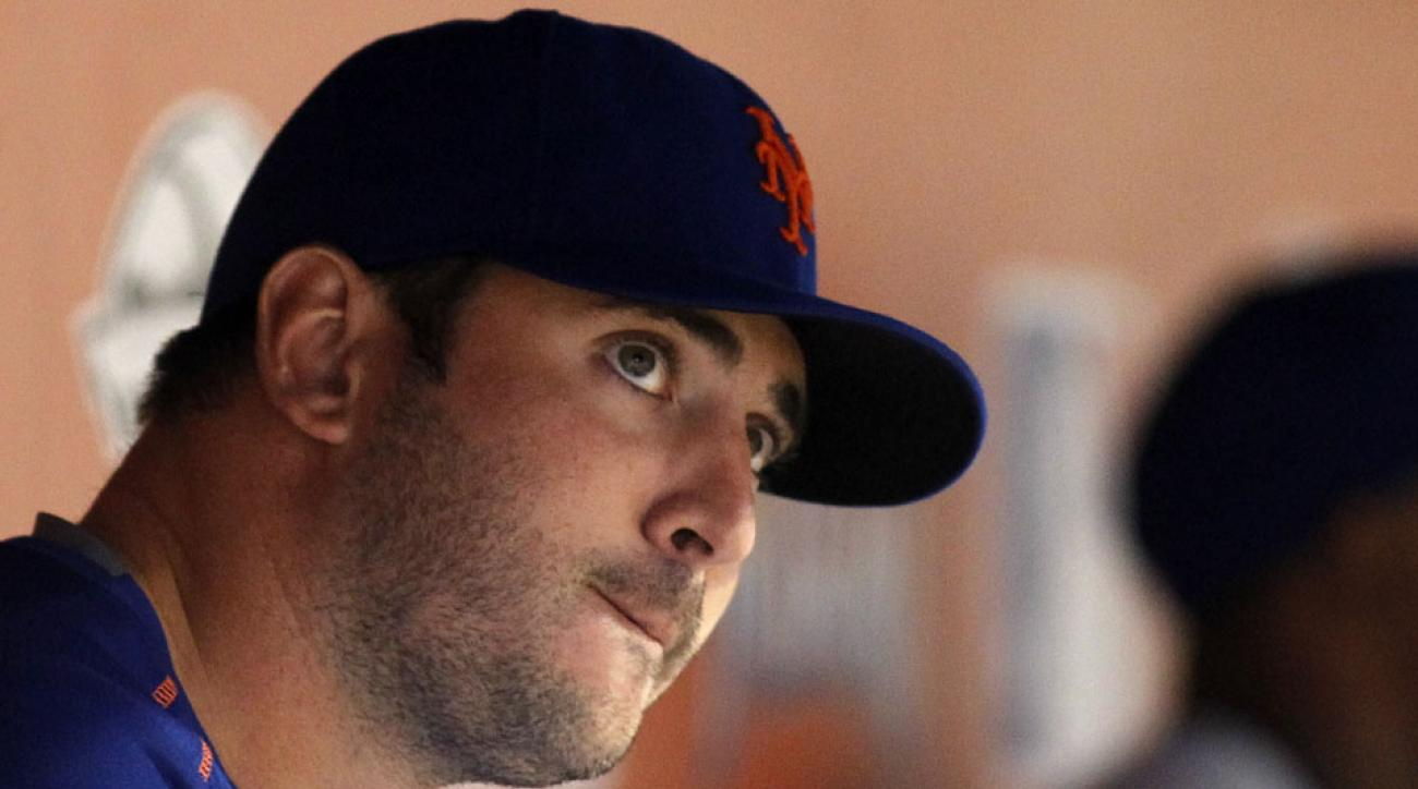 matt harvey new york mets playoffs limit
