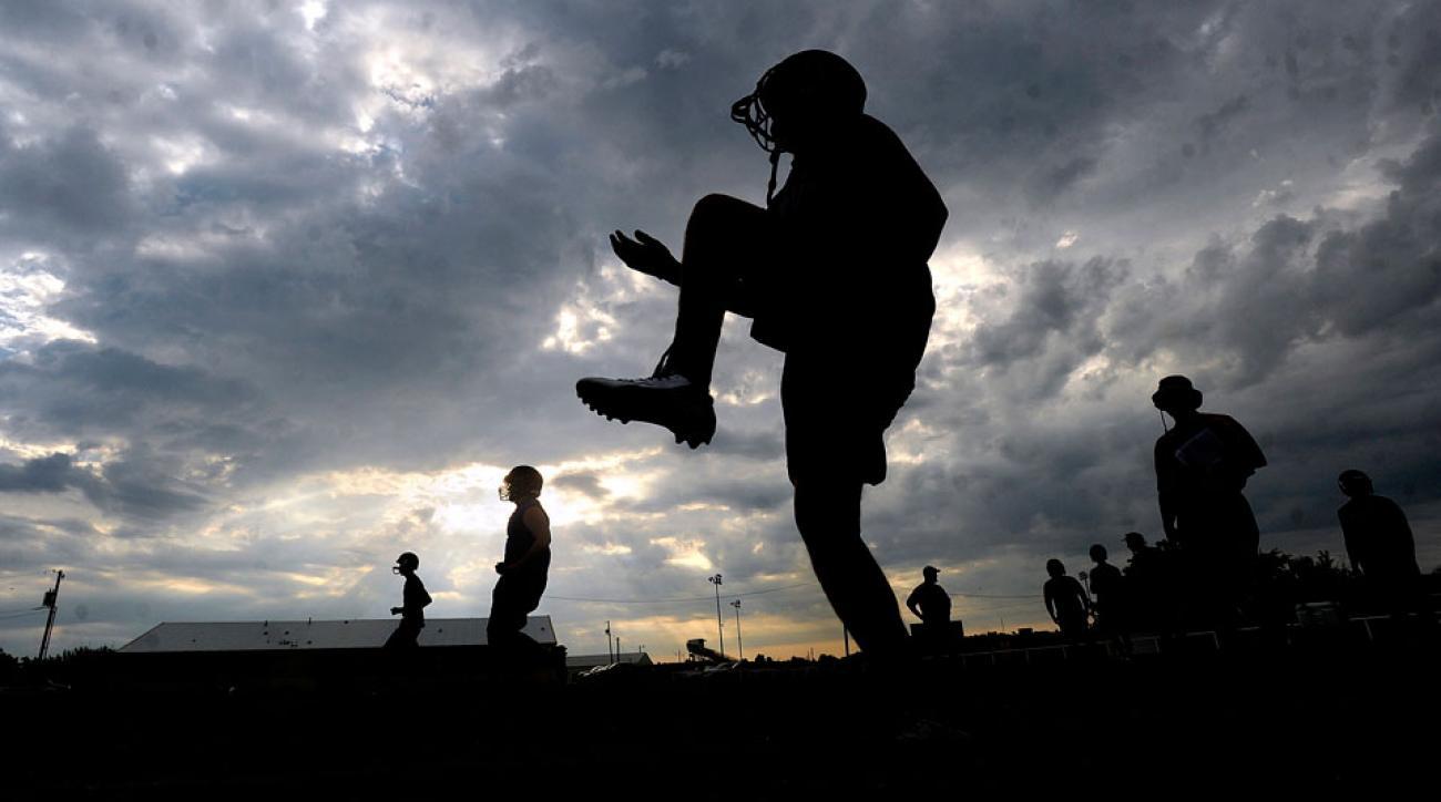 texas high school football referee targetting