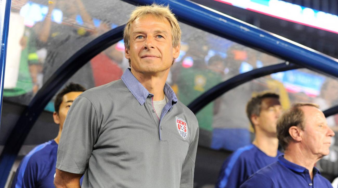 Jurgen Klinsmann guides the USA vs. Mexico in next month's crucial Confederations Cup playoff