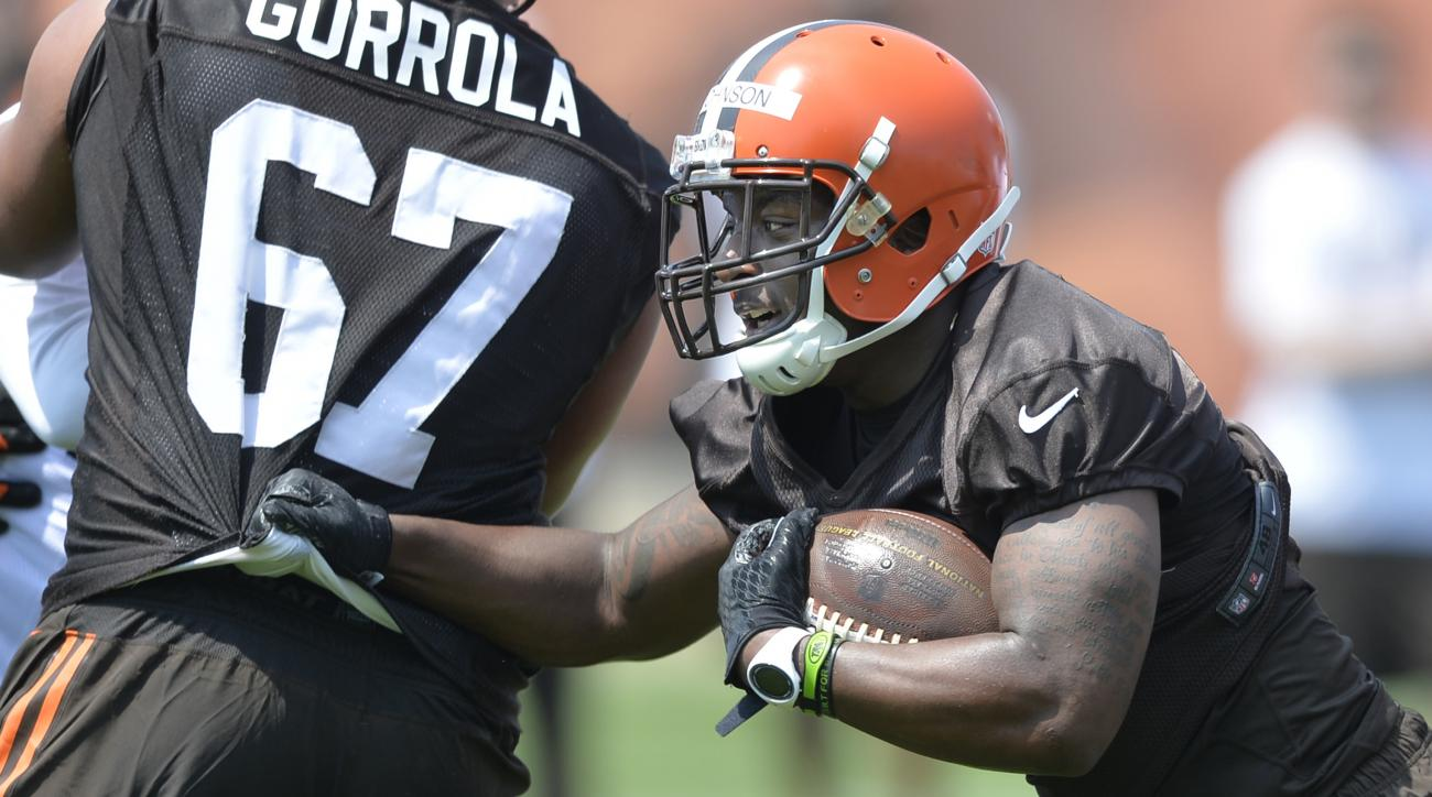 cleveland browns duke johnson concussion week 1 jets