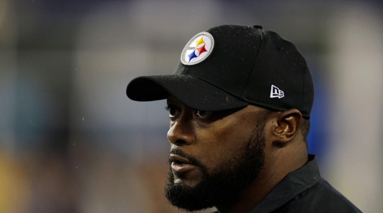 pittsburgh steelers mike tomlin new england patriots