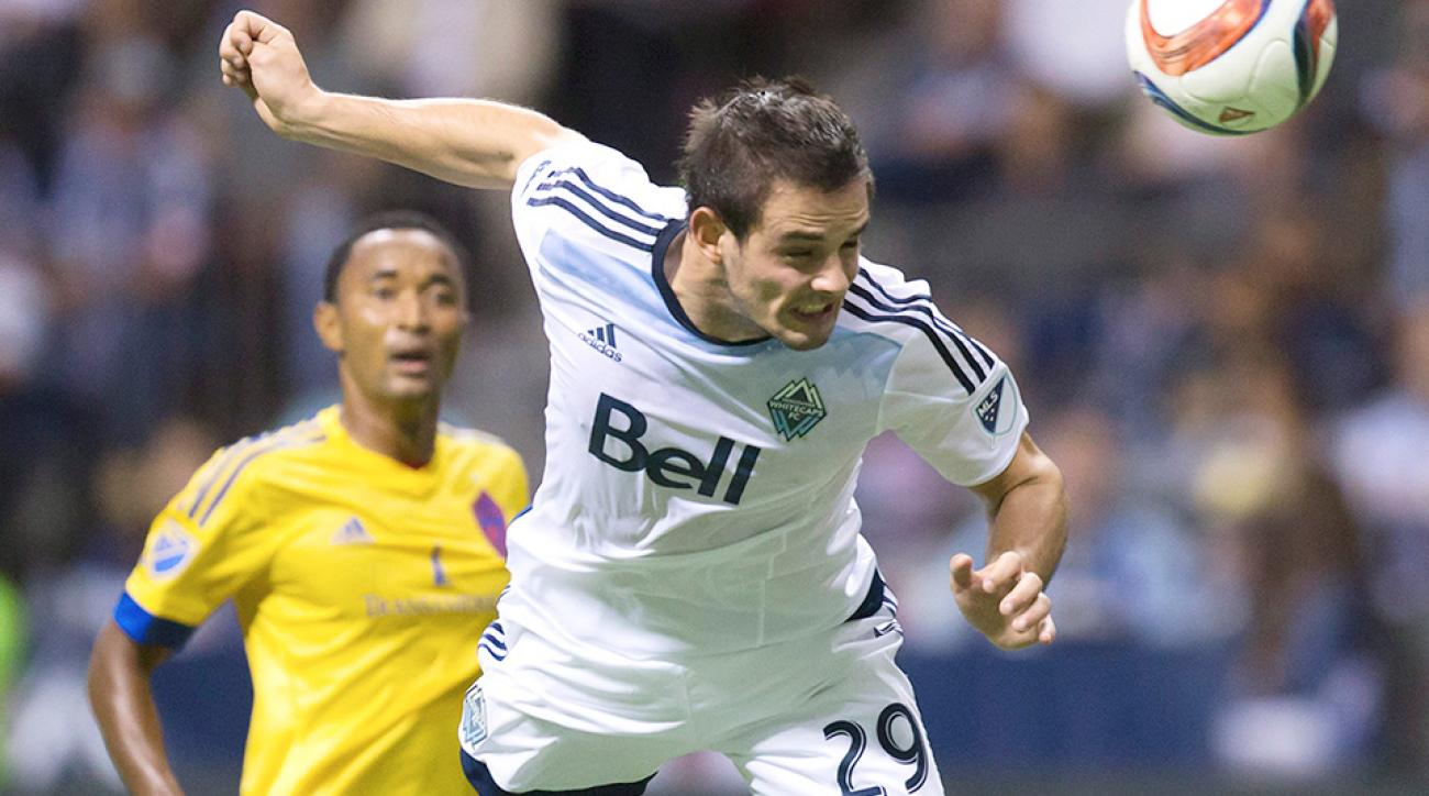 The Vancouver Whitecaps moved into first overall in MLS.