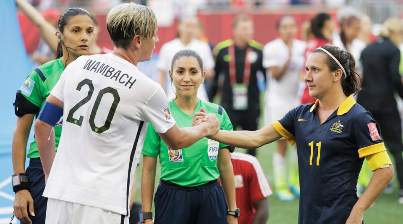 Abby Wambach and the USA will take on a new opponent with Australia pulling out of September's friendlies