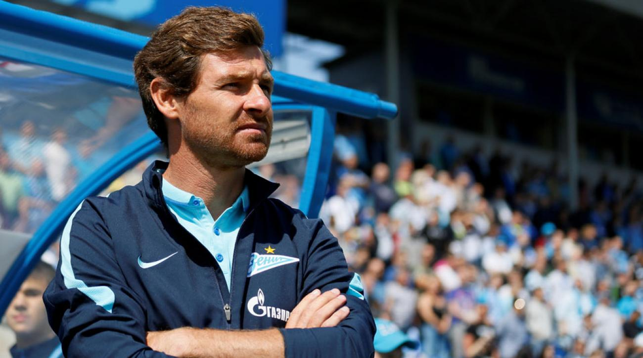 Andre Villas Boas will leave Zenit at the end of the season