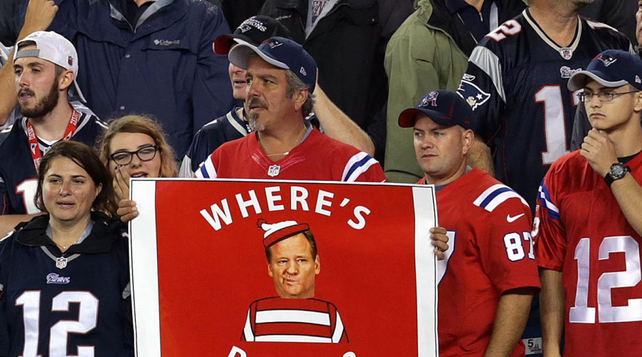 patriots steelers where is roger goodell chant