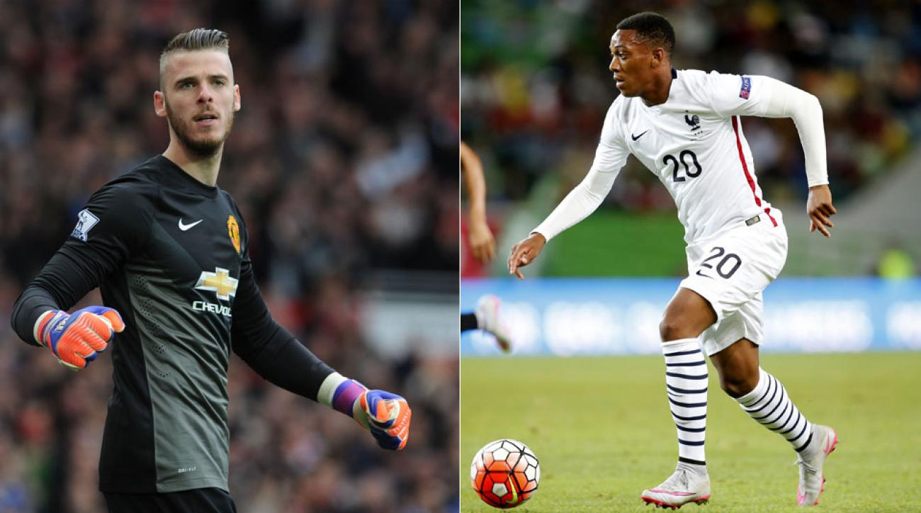 David de Gea and Anthony Martial face new pressure at Manchester United