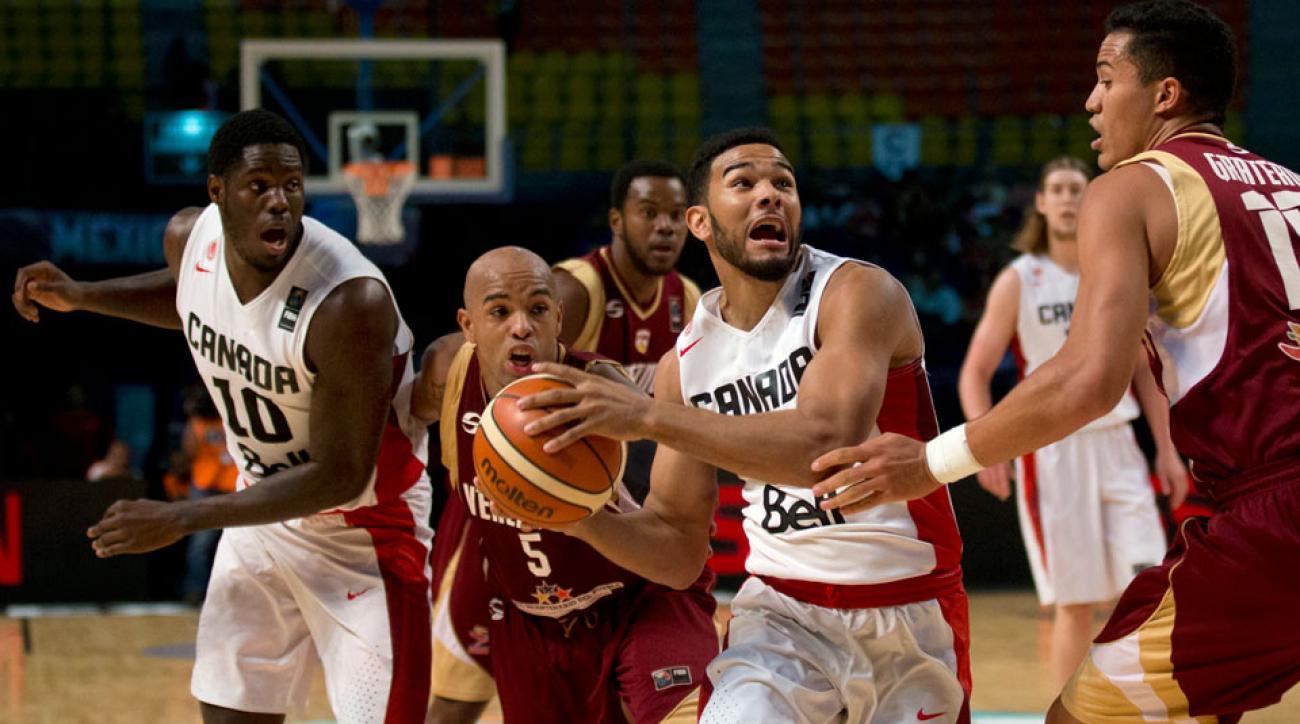gregory vargas venezuela basketball olympics 2016 canada fiba america